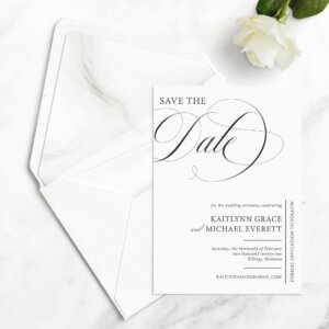 classic save the date cards