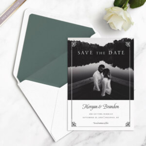 elegant save the dates