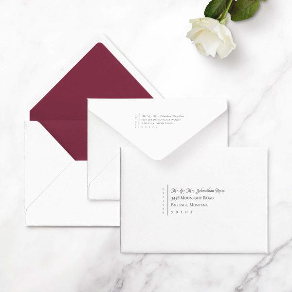 elegant save the dates