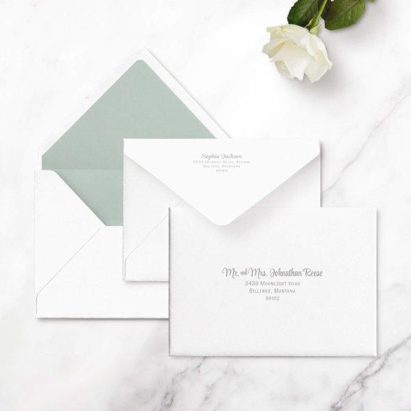 modern envelopes