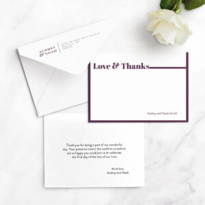 ideas for thank you cards