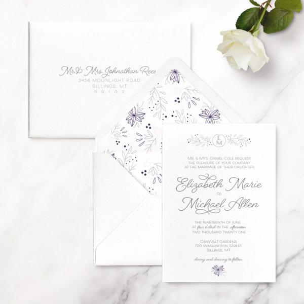 monogram-wedding-invitation