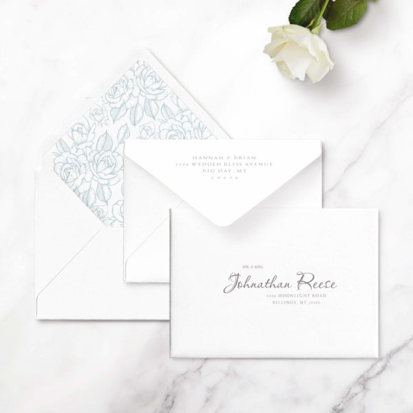 save the date cards elegant