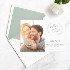 save the date cards for wedding