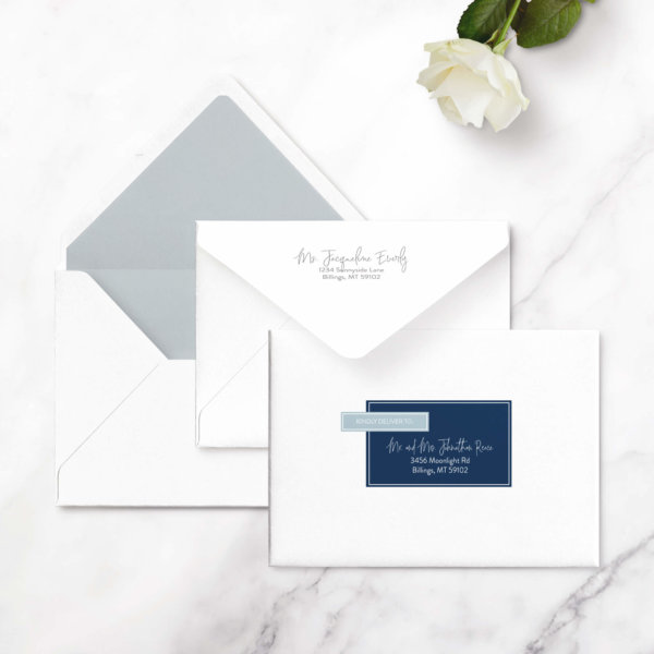 save the date cards modern