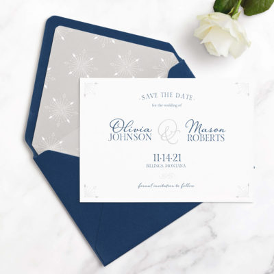 save the date cards without photo