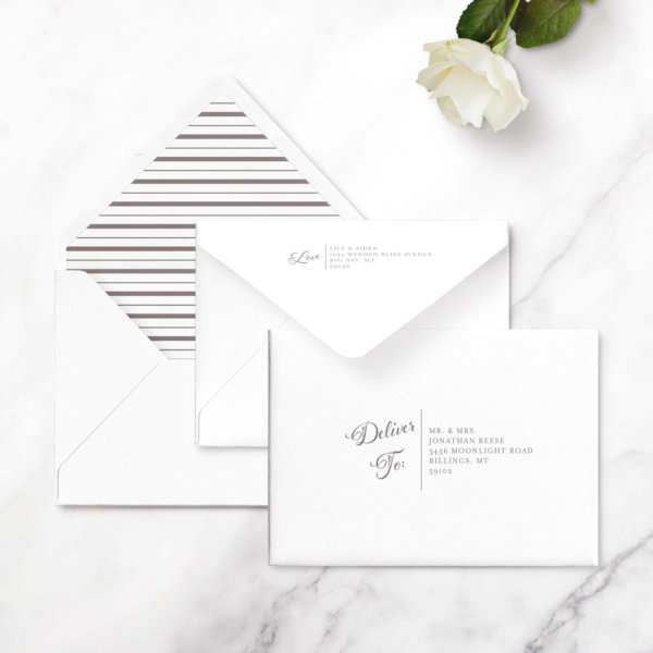save the date cards no photo