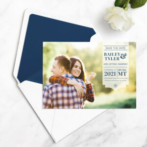 save the date cards photo