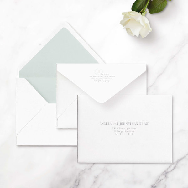 save the date cards rustic