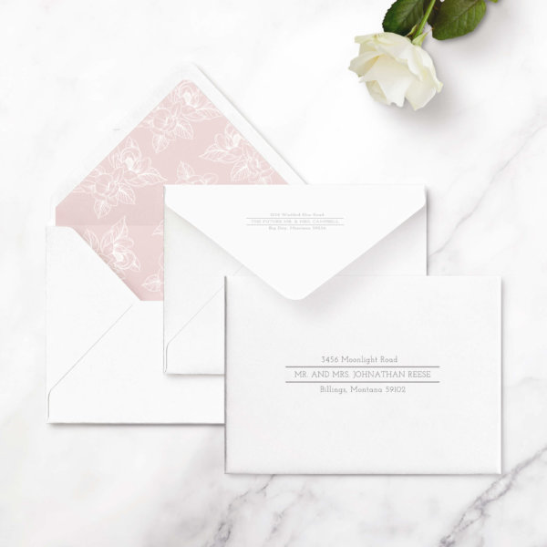 traditional save the date cards