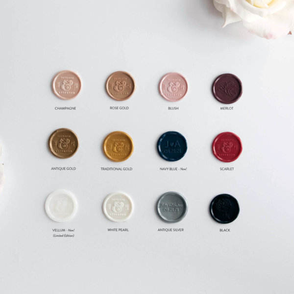 wax seal blush