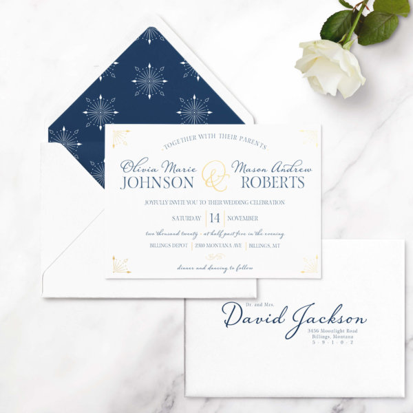 wedding invitation formal