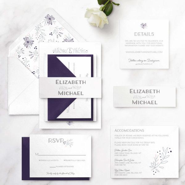 monogram-wedding-invitation-suite
