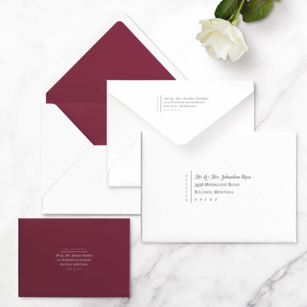 wedding invitations luxurious