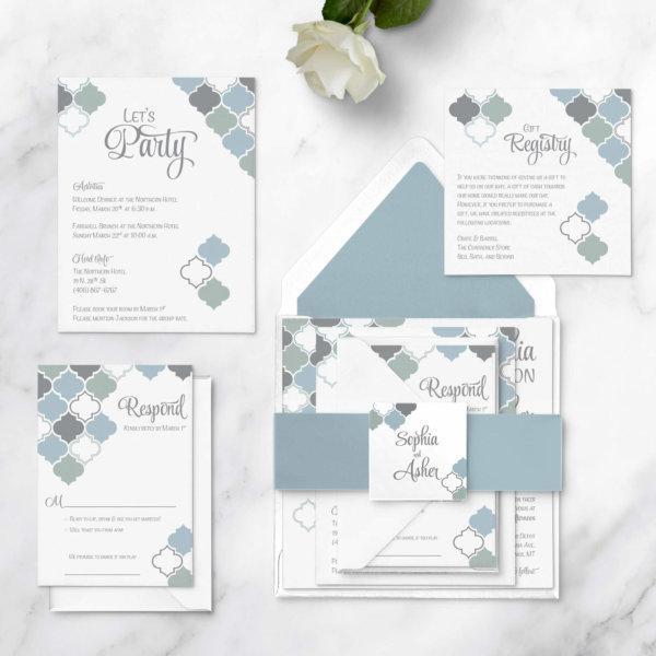 wedding invitations square