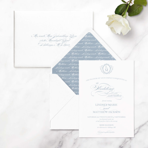 wedding invitations timeless