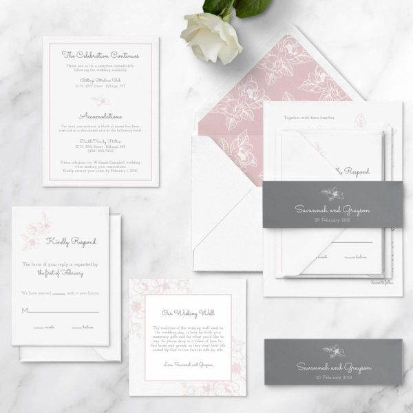 wedding invitations tradtiional