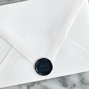 initials wax seals