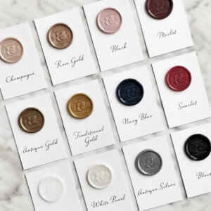 wax seal samples