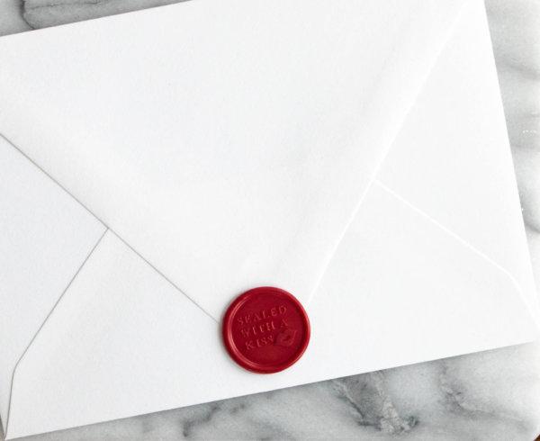 wedding invitations wax seals