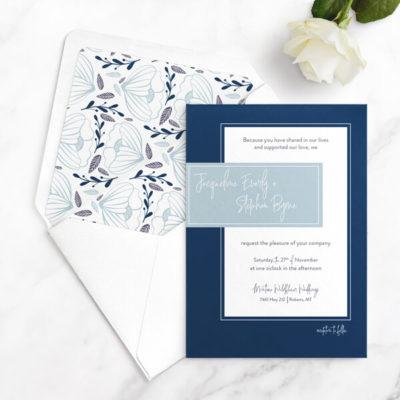 geometric wedding invites free sample