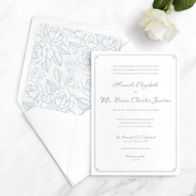 luxury wedding invitations free sample