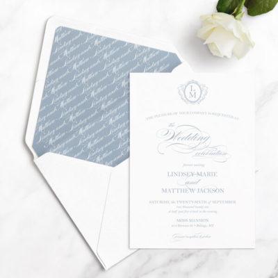 timeless wedding invitation samples