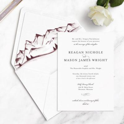mountain free wedding samples