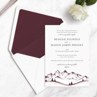 mountain wedding samples